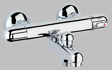 Grohe 34334 34336 Grohtherm 1000 Exposed Thermostatic Bath Shower Mixer