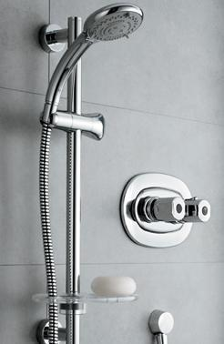 Grohe Shower Valve >> Trevi THERM built in Valve & Elipse slidebar kit, thermostatic