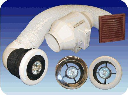 Vectaire extractor fans luxvent plus extractor fan with light for Zone 0 bathroom extractor fan