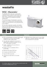 Wasteflo WC2 Macerator