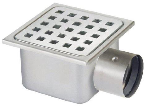 Waterworld Low Profile Drain Trap Amp Gully Stainless Steel