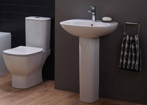 New Year Offer Ideal Standard Tesi Open Cc Wc 45cm Or 55cm Basin