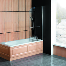 BERLET Ralus6 Square or Curved Over Bath Screen 800x1500x6mm